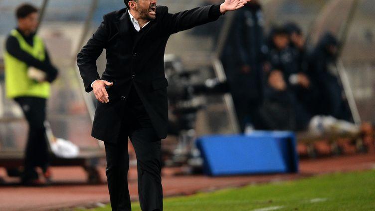 Sergio Conceição prend la tête du FC Nantes (FRANCISCO LEONG / AFP)