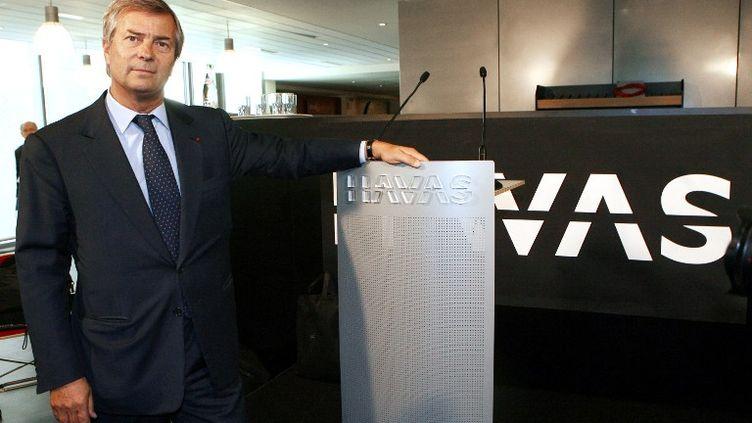 Jeudi, Vincent Bolloré, le vrai grand patron de Vivendi, à qui appartient justement Canal, annonce qu'il met la main sur le groupe Havas dont il détient déjà une partie du capital. (THOMAS COEX / AFP)