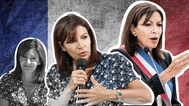 La maire de Paris, Anne Hidalgo, est candidate à l'élection présidentielle de 2022. (PIERRE-ALBERT JOSSERAND / FRANCEINFO)