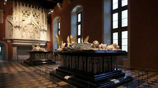 Le tombeau de Jean Sans Peur et de Marguerite de Bavière accompagné de leurs pleurants au premier plan : l'une des attractions du musée.  (Tardivon/Sipa)