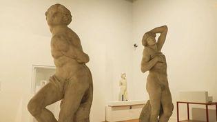 """Exposition """"Le corps et le nu"""" au Louvre (Capture d'écran France 2)"""