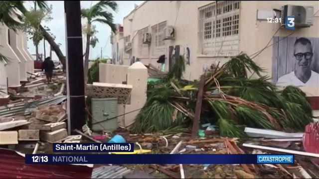 Saint-Martin avant et après l'ouragan Irma