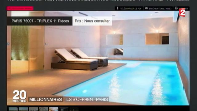 Immobilier : ces millionnaires qui s'offrent Paris