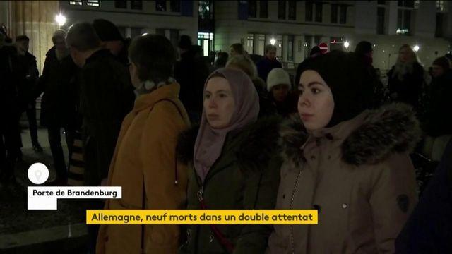 Attentats en Allemagne : hommage aux neuf victimes des fusillades d'Hanau