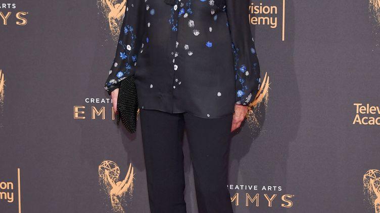 L'actrice américaine Jessica Walter à Los Angeles le 9 septembre 2017 lors de la cérémonie desCreative Arts Emmy Awards (NEILSON BARNARD / GETTY IMAGES NORTH AMERICA)