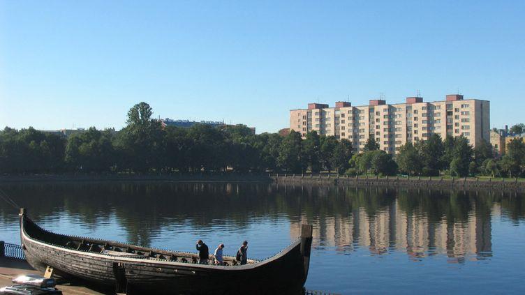 Une vue de la ville de Vyborg, en Russie, le 28 août 2005. (KMIT / RIA NOVOSTI)