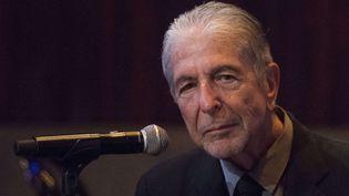 Leonard Cohen en septembre 2014 à New York  (Charles Sykes / AP / SIPA)