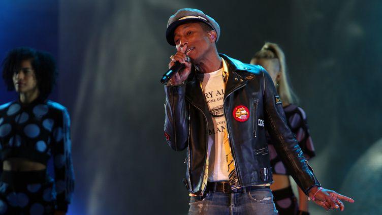Pharrell Williams à Vienne le 23 juin 2015  (Jean-François Lixon)
