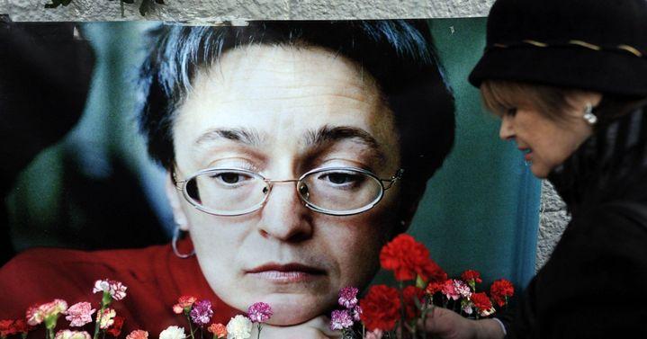 Anna Politkovskaïa  (NATALIA KOLESNIKOVA / AFP)
