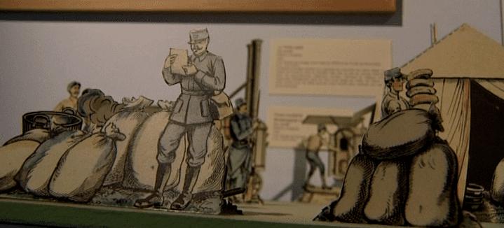 Le thème de la guerre était partout dans les jouets de l'époque  (France 3/Culturebox)