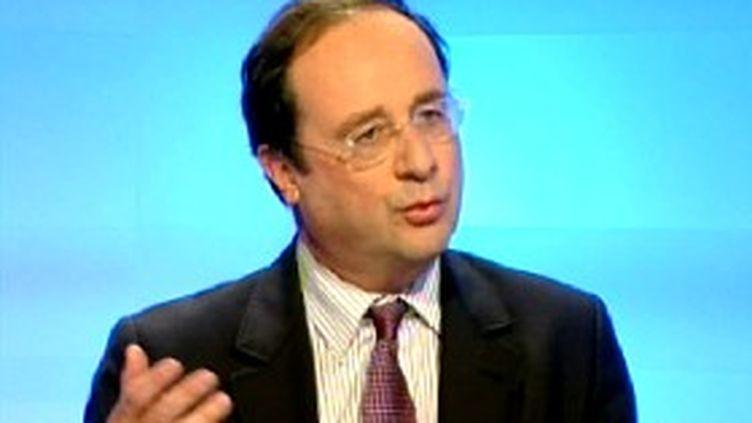 François Hollande, ex-premier secrétaire du Parti Socialiste. (France 3 LPC)