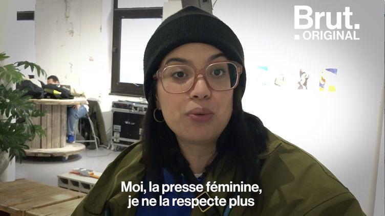 """VIDEO. Grossophobie : """"J'ai toute une génération derrière moi qui ne se sent pas représentée"""", dit Melha Bedia (BRUT)"""