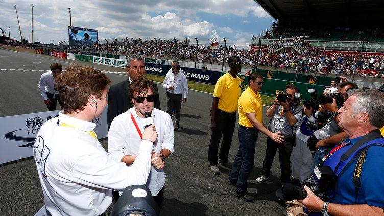 Fernando Alonso au Mans en 2014
