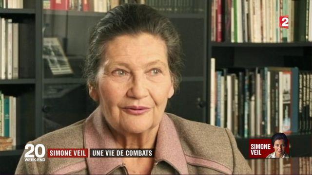 Simone Veil : une vie de combats