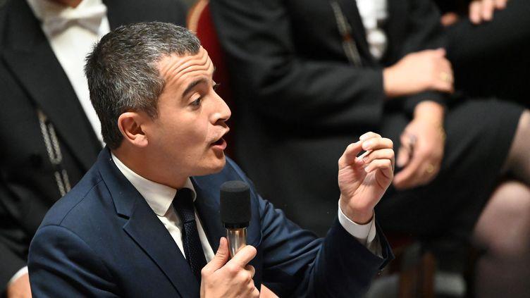 Le ministre des Comptes pubics, Gérald Darmanin, le 17 septembre 2019. (DOMINIQUE FAGET / AFP)