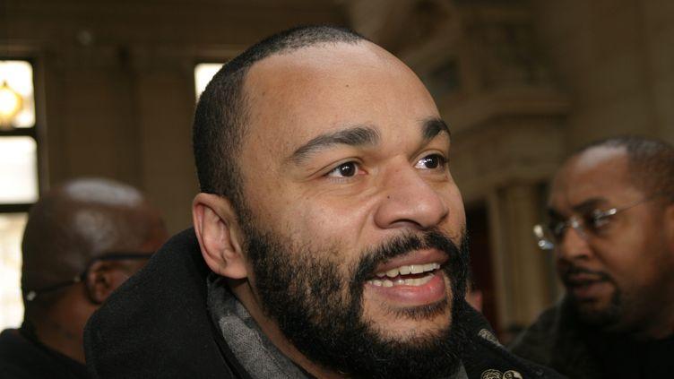 L'humoriste Dieudonné, le 8 février 2007 à Paris. ( HANDOUT / MAXPPP)