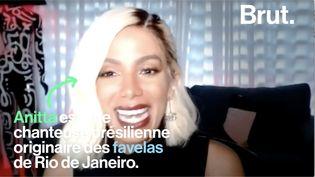 """VIDEO. La chanteuse brésilienne Anitta démonte les clichés sur le """"baile funk"""" (BRUT)"""