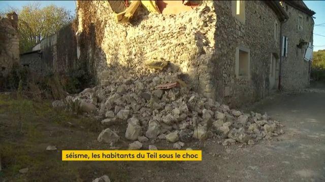 Ardèche : la commune du Teil toujours sous le choc après le séisme