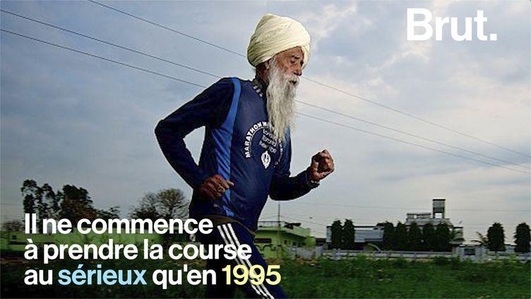 VIDEO. L'histoire de Fauja Singh, marathonien à 89 ans (BRUT)