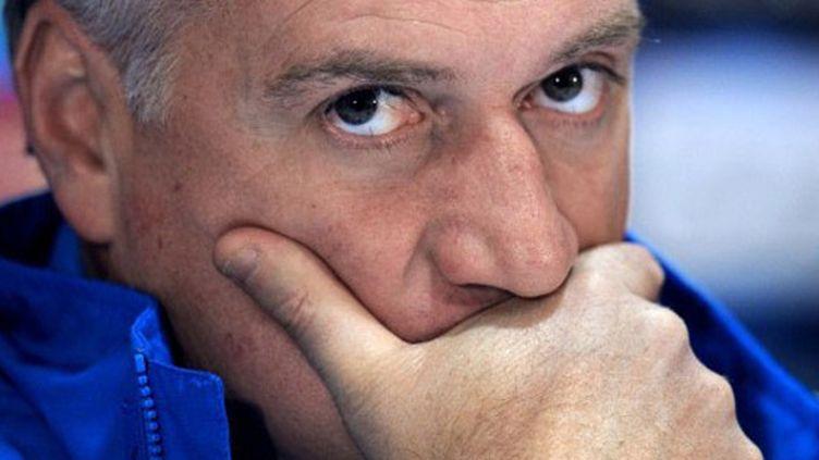 L'entraîneur de Marseille Didier Deschamps