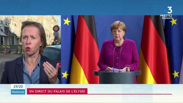Coronavirus : Macron et Merkel souhaitent une réponse européenne à la crise