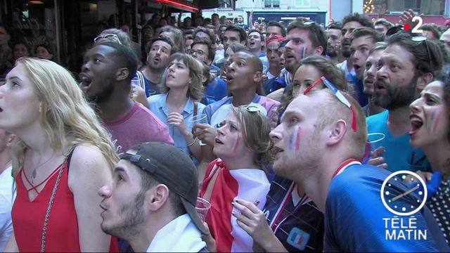 Coupe du monde : les Français ont fait frissoner la Terre lors de France-Croatie