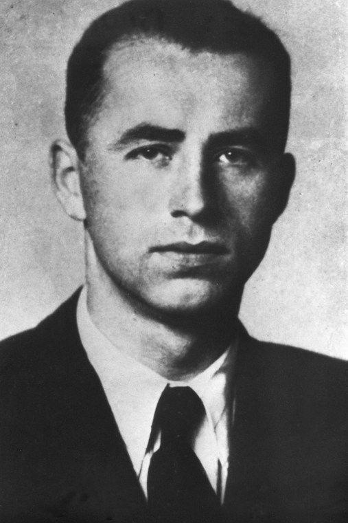 Photo non datée du criminel de guerre Nazi, Aloïs Brunner, responsable de la déportation et l'extermination de plus de 130.000 juifs d'Europe. Il est mort en 2001, à l'âge de 89 ans, dans un cachot à Damas, selon le magazine XXI, publié le 11 janvier 2017. (Archives/AFP)