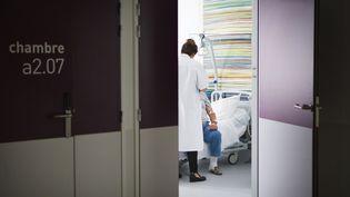 Dans l'unité d'endocrinologie d'un hôpital de Savoie, le 9 juin 2017. (AMELIE-BENOIST / AFP)