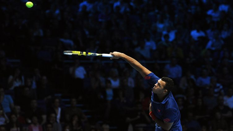 Jo-Wilfried Tsonga (CARL COURT / AFP)