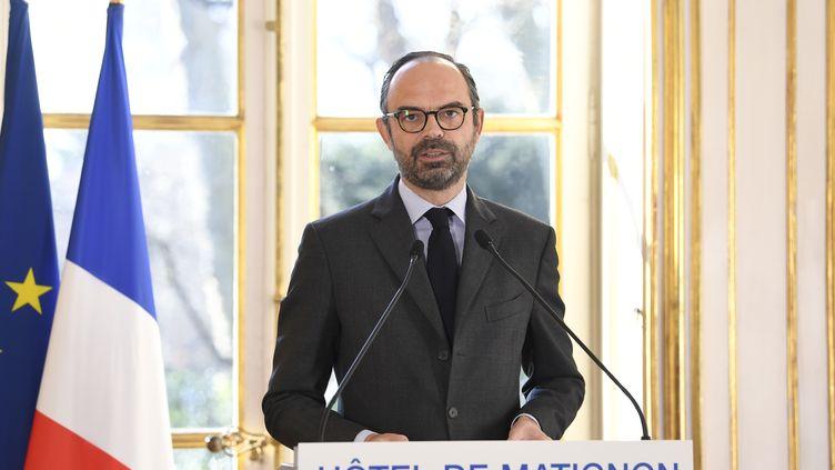 Le Premier ministre Edouard Philippe, à Paris, le 26 février 2018. (ERIC FEFERBERG / AFP)
