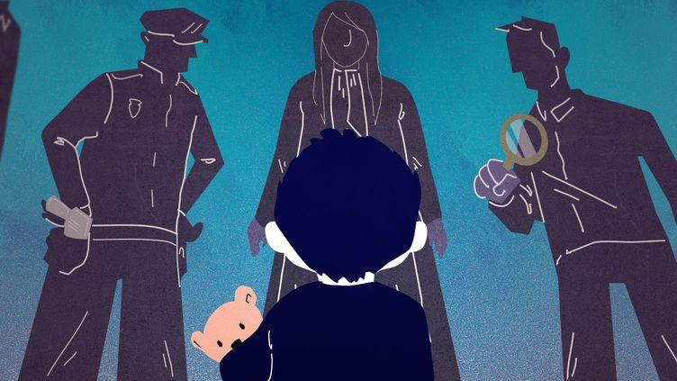 Les victimes d'inceste témoignent parfois vingt ou trente ans après les faits, à la limité du délai de prescription établi en France. (PIERRE-ALBERT JOSSERAND / FRANCEINFO)