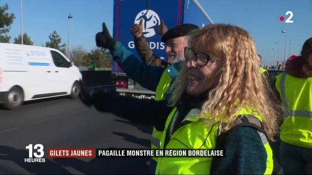 """""""Gilets jaunes"""" : pagaille monstre en région bordelaise"""
