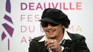 Johnny Depp à Deauville (5 septembre 2021) (LOIC VENANCE / AFP)