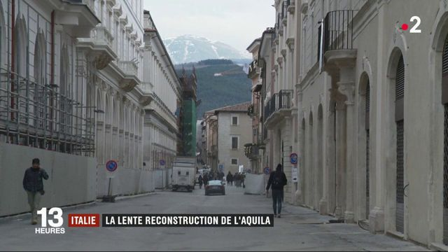 Italie : L'Aquila attend toujours la reconstruction 10 ans après le séisme