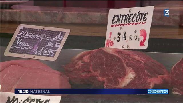 Consommation : les Français mangent de moins en moins de viande