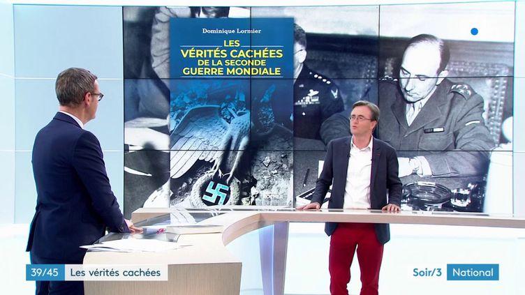 L'historien Dominique Lormier et son livre (France 3)