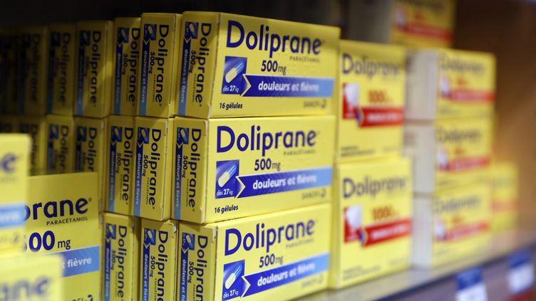 Plusieurs médicaments, dont le Doliprane, ne seront plus en accès libre dans les pharmacies à partir du 15 janvier 2020. (Photo d'illustration) (PASCAL DELOCHE / GODONG / PHOTONONSTOP / AFP)