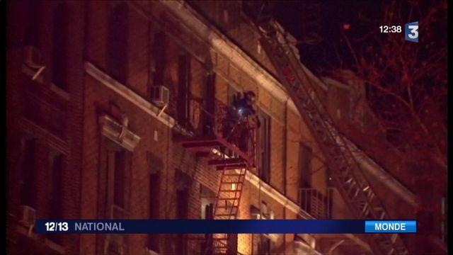 New York : un dramatique incendie fait douze morts