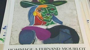 Pablo Picasso a découvert l'atelier Mourlot en 1945, dès lors il adopte la technique de la lithographie en lui adaptant tous les matériaux picturaux.  (France3 / Culturebox)