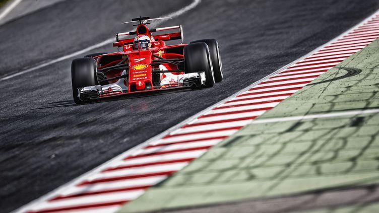 Kimi Raïkkönen (Ferrari) (FLORENT GOODEN / DPPI MEDIA)