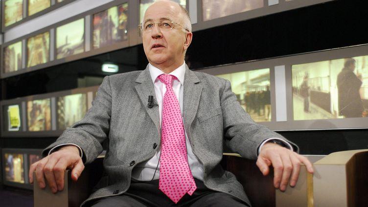 Denis McShane,député travailliste britanniqueet ancien ministre britannique des Affaires étrangères. (MAXPPP)