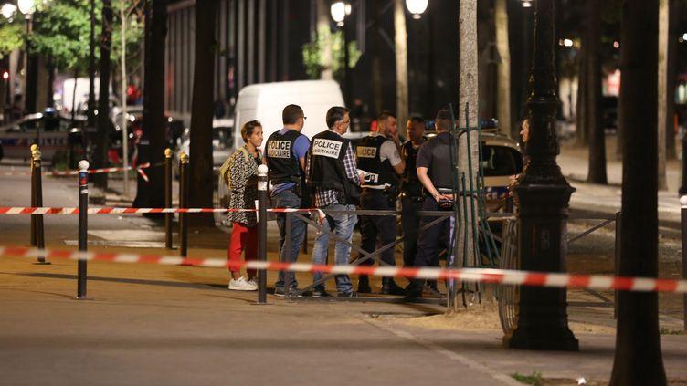 Les faits ont eu lieu sur le quai de Loire, dans le 19e arrondissement de Paris, dans la soirée du 9 septembre 2018. (ZAKARIA ABDELKAFI / AFP)