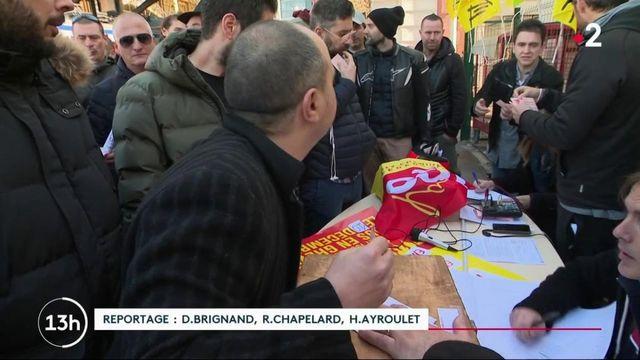 Grève du 9 décembre : des grévistes de la SNCF déterminés à Nice