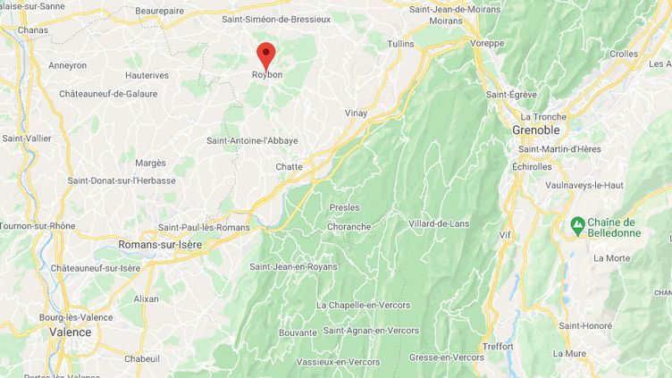 Roybon (Isère). (GOOGLE MAPS)