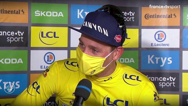 """Mathieu van der Poel : """"C'était ma dernière chance de prendre le maillot"""""""