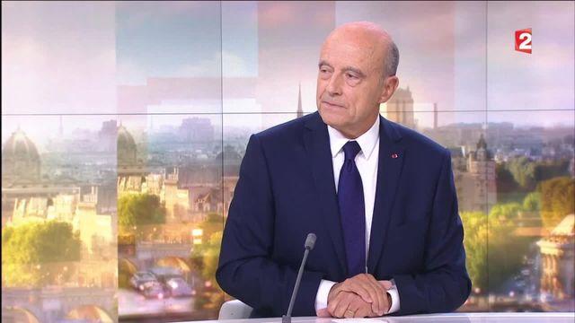 """Alain Juppé veut un """"État fort, le plein emploi et une éducation nationale qui fonctionne"""""""