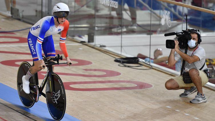 Marie Patouillet aux Jeux paralympiques de Tokyo. (L.PERCIVAL - CPSF)
