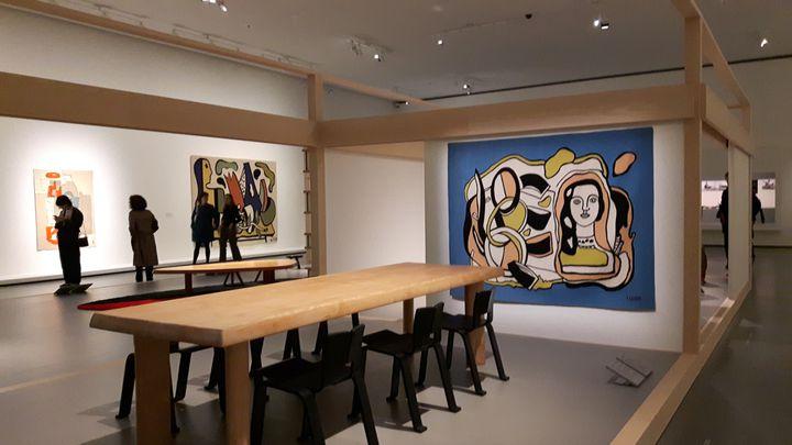 Charlotte Perriand fait dialoguer architecture, peinture et sculpture. (ANNE CHEPEAU / RADIO FRANCE)