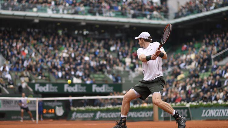 Andy Murray vise une première finale à Roland-Garros face à Stan Wawrinka (MIGUEL MEDINA / AFP)