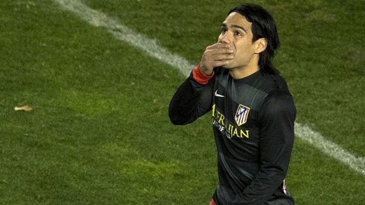 Radamel Falcao a marqué... mais cela n'a pas suffi.  (DANI POZO / AFP)